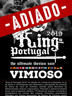 Cartaz king 2019 adiado 1 300 400